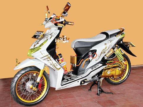 Bengkel Modifikasi Motor Keren Kumpulan Foto Modifikasi Motor