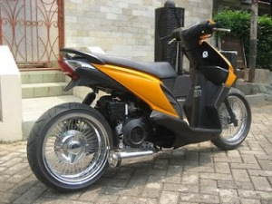 Modifikasi Honda Beat1