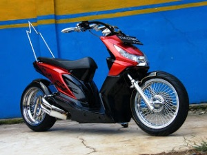 Modifikasi Honda Beat2