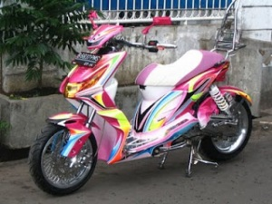Modifikasi Honda Beat3