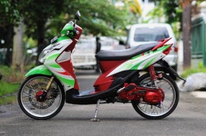 Modifikasi Motor Yamaha Mio1