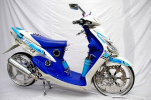 Modifikasi Motor Yamaha Mio2