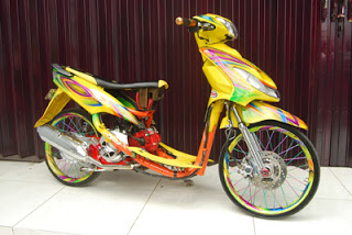 Kumpulan Foto Modifikasi Mio Sporty Modifikasi Motor Kawasaki