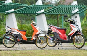 Modifikasi Motor Yamaha Mio6