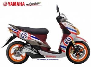 Modifikasi Motor Yamaha Mio7