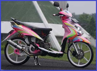 Top modifikasi motor matic suzuki nex