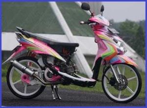 Modifikasi Motor Yamaha Mio9